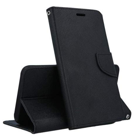 stüm KABURA Nokia X5 2018 Etui Klappe Magnet schwarz Gurt ()