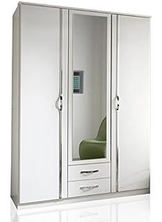 3 türiger kleiderschrank mit spiegel