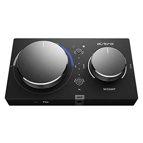 ASTRO Gaming MixAmp Pro TR Gen 4 Adapter (mit Dolby Audio, kompatibel mit PlayStation 4, PC, Mac) schwarz/Blau