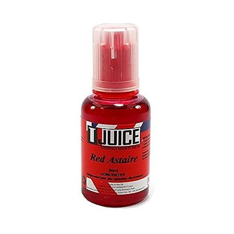 Sans Nicotine - Red Astaire Concentré pour DIY par T-Juice
