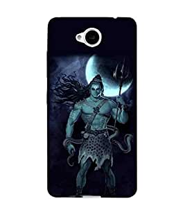 For Microsoft Lumia 650 :: Microsoft Lumia 650 Dual SIM shiva, god, baghwan, lord, jesus, cristrian, allah Designer Printed High Quality Smooth Matte Protective Mobile Case Back Pouch Cover by APEX