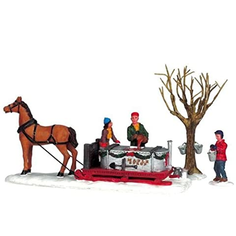 Lemax - Maple Syrup Sled, Set Of 3