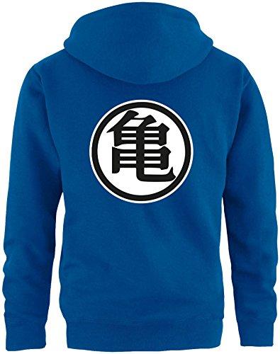 EZYshirt® Son Goku Herren Hoodie   Herren Kapuzenpullover   Herren Pullover