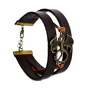 Beau Bijoux Game of Thrones Charm-Armband Schmuck Stark Lannister Targaryen Anhänger