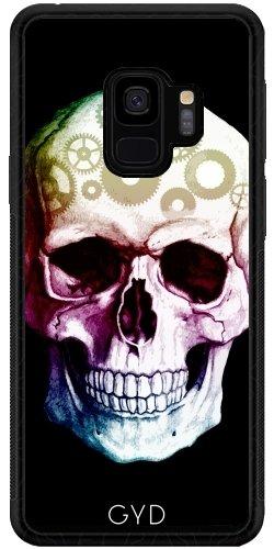 tArtists SilikonHülle für Samsung Galaxy S9 (SM-G960) - Tattoo Schädel Halloween by WonderfulDreamPicture ()