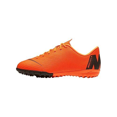 Nike Unisex-Kinder Jr Vaporx 12 Academy Gs Tf Fitnessschuhe, Mehrfarbig (Total Orange/Black-t 810), 37.5 EU