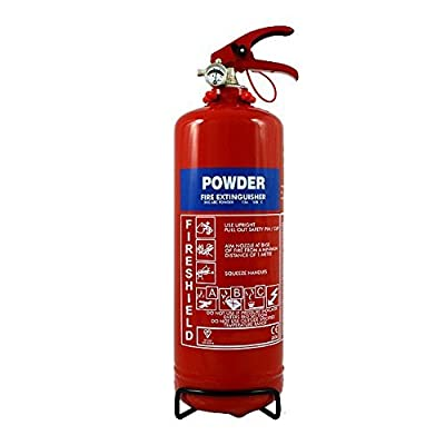 Powder Fire Extinguisher - 2KG ABC Dry Powder Extinguisher FireShield PRO