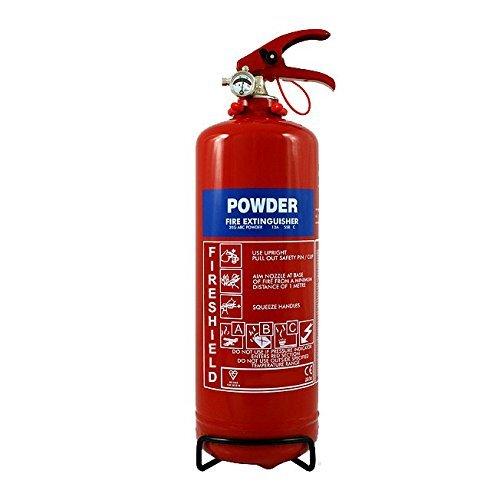 Powder Fire Extinguisher - 2KG ABC Dry Powder Extinguisher FireShield PRO