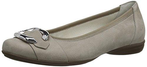 Sapatos Gabor 22.620.47_gabor Senhoras Fechadas Bailarinas Cinzentas (visone)