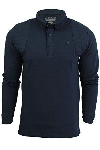 Herren kurzärmliges Polohemd aus der Blackout Collection von Voi Jeans Cole - Black Irish