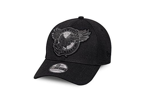 Harley-Davidson Harley-DavidsonCircle Eagle 39THIRTY® Cap Schirmmütze, 97660-17VM, M (Eagle Harley Mens Davidson)