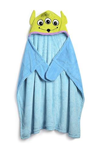 Licensed_Primark Manta con Capucha para niños de Disney Toy Story Alien, 90 cm x 90 cm