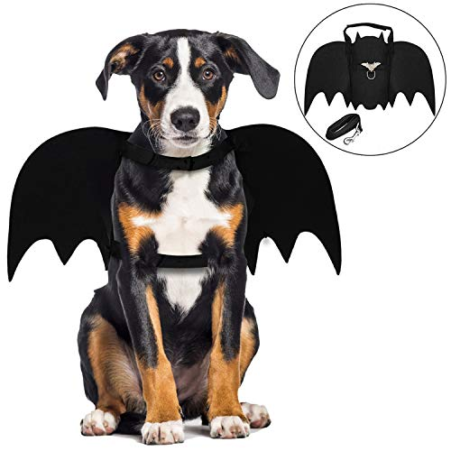 Legendog Halloween Hund kostüm, Haustier Fledermaus Kostüm/Pet Bat Hund Kostüm/Pet Kostüm für Hunde Cosplay Party Weihnachten Special Events Kostüm