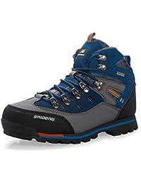 Showlovein - Zapatillas de pesca de Material Sintético para hombre, color azul, talla 44 EU