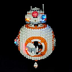 BANDRA Kit Lumière - LED Light Kit Compatible avec Lego 75187 - Star Wars BB-8 (Pas Inclus Le Modèle Lego)