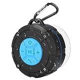 PEYOU Altavoz Bluetooth Ducha Impermeable, Mini Bluetooth Altavoz con Ventosa [4h de Tiempo de Juego] [IPX7 A Prueba de Agua] Compatible para iPhone, iPad, Samsung, Huawei