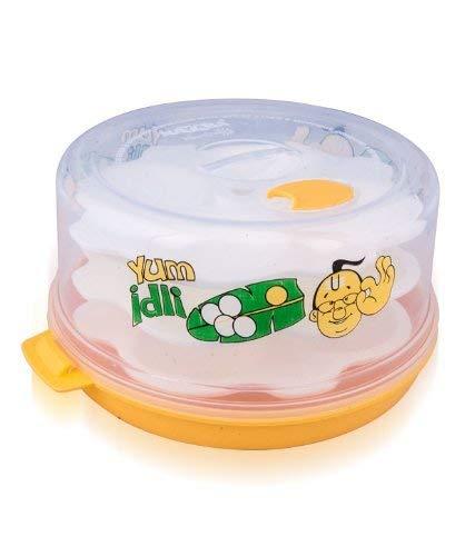 Nayasa Plastic Big Idli Maker and Steamed Recipes, BPA-free for...