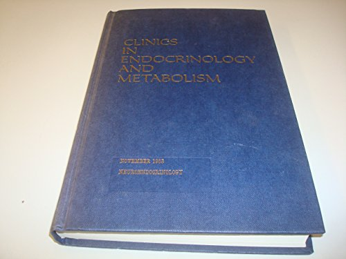 Clinics In Endocrinology And Metabolism by M.F Scanlon