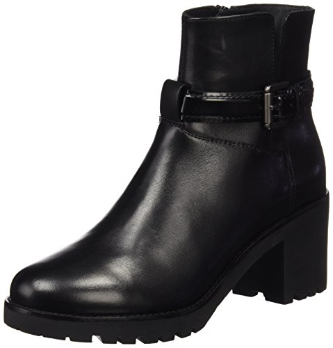 Geox D New Dovelyn B, Bottes Classiques Femme Schwarz (BLACKC9999)