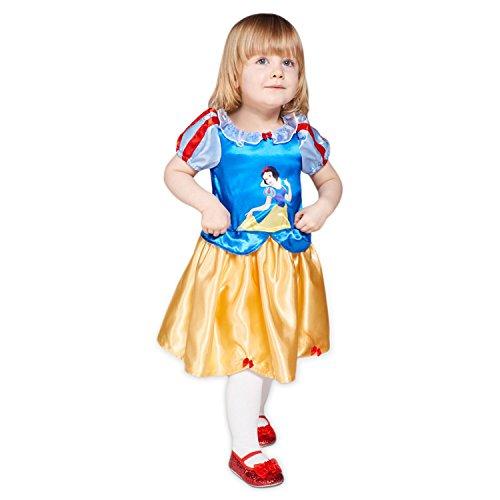 (Amscan DCPRSWG06 7 Zwerge Kinderkostüm Prinzessin Schneewittchen, 68-80 cm)