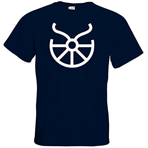 getshirts - Das Schwarze Auge - T-Shirt - Götter - Symbole - Boron Navy