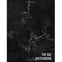 The Big Sketchbook: Black Marble Art Drawing BooksSketching, Drawing, Creative Doodling to Draw and Journal