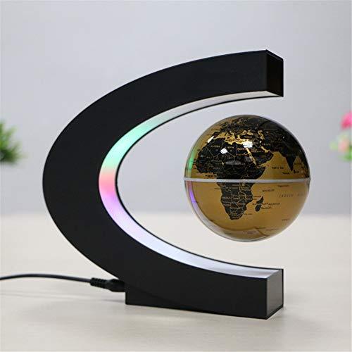 Rotierende volle Erdgeographie pädagogisch Karte Globus, Magnetschwebebahn Floating World Map...