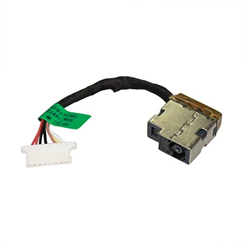 Gintai DC Power Jack Port Buchse Kabel Ersatz für HP Notebook 14-BP060SA 808155-021 -