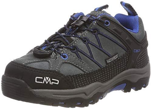 CMP Unisex-Kinder Rigel Low Trekking- & Wanderhalbschuhe, Grau (Grey-Zaffiro 52ak), 30 EU
