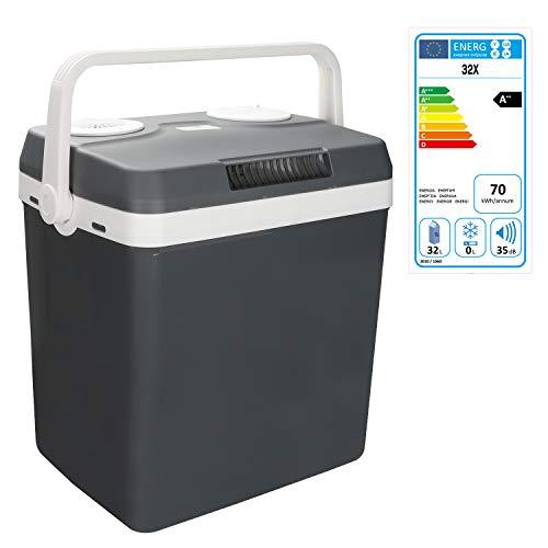 Hengda 32 litres Glacière Électrique Portable de roulettes Mini Réfrigérateur Poignée de...