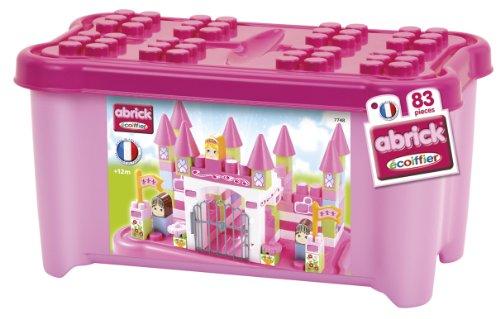 Ecoiffier - 7748 - Jeu De Construction - Coffre À Briques Princesse