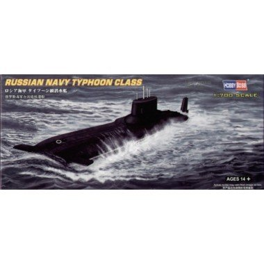 Hobby Boss 87019 Modellbausatz Russian Navy Typhoon class Submarine