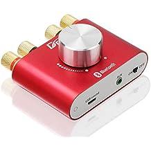 Mini audio estéreo Bluetooth inalámbrico amplificador amplificador de señal digital eléctrico DIY 30W * 2 de dos canales cuerpo de aluminio Junta módulo ...
