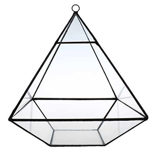 Sharplace Tabletop Glasterrarium Cube Fairy Gartenhaus Gewaechshaus Pflanze - color2, 155*155*190MM
