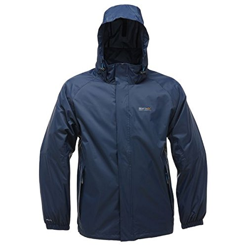 Regatta Mens Magnitude IV Waterproof Shell Jackets - Midnight, Large