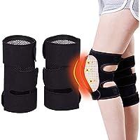 Egosy Rodilleras Turmalina Autocalentamiento Terapia magnética Rodilleras Cinturón Artritis Articulación Rodillera