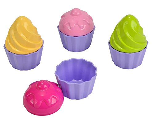 Simba 107102508 - Sandformen Cup Cake, Strandspielzeug