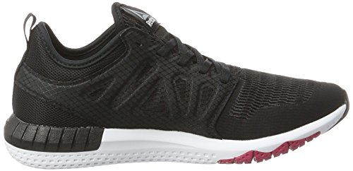 Reebok Zprint 3d, Scarpe Running Donna Nero (Black/coal/pink Craze/pewter/white)