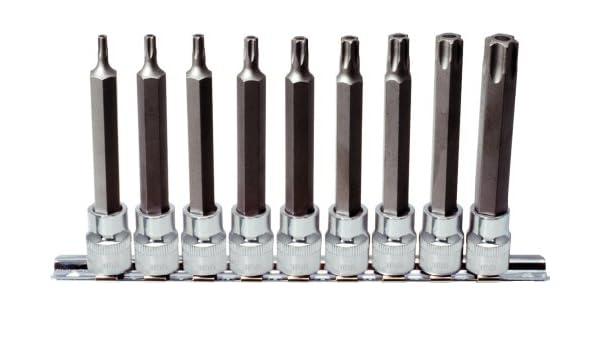 """T40 KS Tools 3//8/"""" CHROMEplus Bit-Stecknuss TX"""