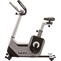 Preisvergleich für MAXXUS Ergometer Bike 6.2, 120kg belastbar, Magnetbremssystem, horizontal und vertikal Verstellbarer Sitz, Trainingsprogramme, Aufstellmaße 1140x570x1370mm