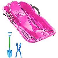 Trineos de Nieve Snow Speeder Pack de Trineo de plástico