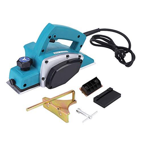 Cepilladora Eléctrica de Madera,110 V,600 W,13000-16000 RPM,Cepilladora de mano portátil Multifuncional para carpintería