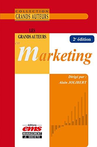 Les grands auteurs en marketing par Alain Jolibert