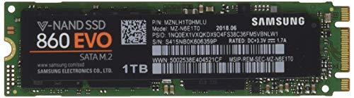 Samsung MZ-N6E1T0BW 860 Evo Interne SSD - 1TB
