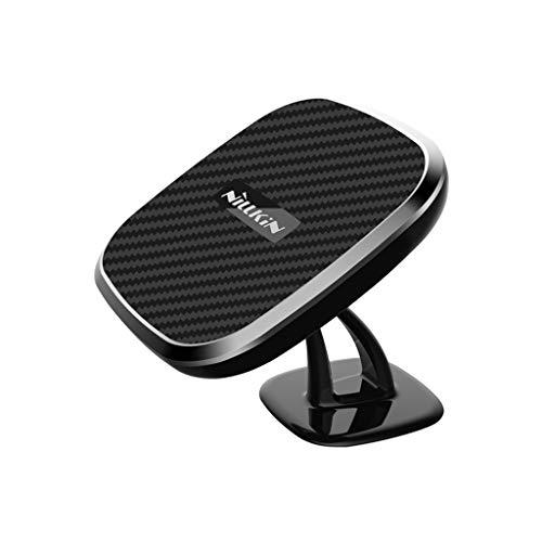 Preisvergleich Produktbild Auto FM Transmitter, TwoCC Kabellos Auto 10 W Schnell Ladegerät Armaturenbrett Auto Halterung Magnetisch Telefon Halterung 360 °