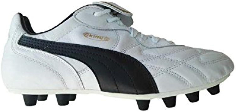 Puma King Top K di FG Fussballschuhe white black team gold   40 5