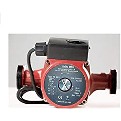 Circulateur 25/4-180 pour chauffage central pompe de recirculation Circulateur eau chaude sanitairesystème de chauffage central