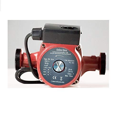 Umwälzpumpe/Heizungspumpe RS 25/4-180 Zirkulationspumpe