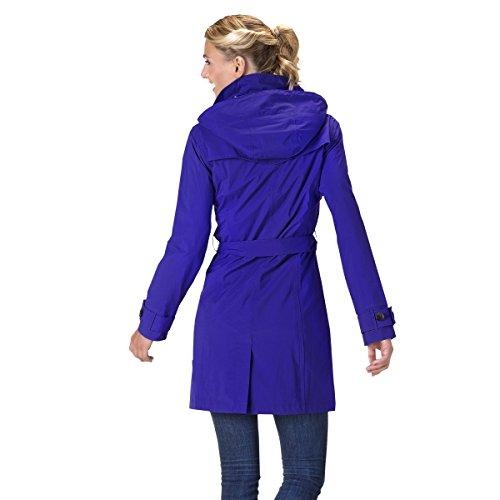 HappyRainyDays - Femme | Manteau imperméable, trench-coat avec capuche, Veste de pluie Lilas