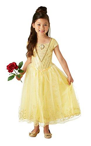 La Bella y la Bestia - Disfraz de Bella Premium para niña, infantil 3-4 años (Rubie's 630608-S)